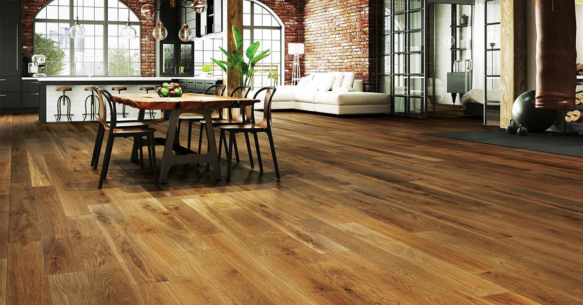 Có nên lát sàn gỗ công nghiệp cho tầng trệt hay không?
