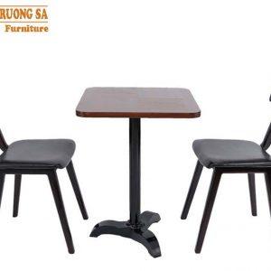 bàn ghế cafe gỗ Alto