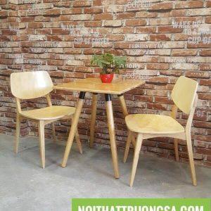 Bộ bàn ghế gỗ mini TS168