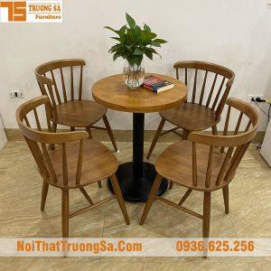 bộ bàn ghế cafe đẹp TS280