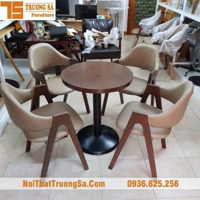 bàn ghế cà phê đẹp TS321
