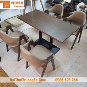 Bàn ghế cafe gỗ TS322