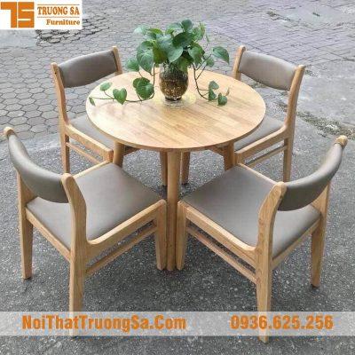 Bàn ghế cafe đẹp TS342