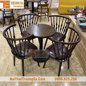 bàn ghế cà phê đẹp TS343