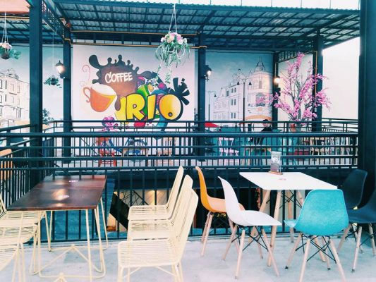 Các phong cách thiết kế quán cafe