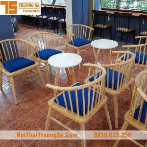 Ghế cafe gỗ đẹp TS150