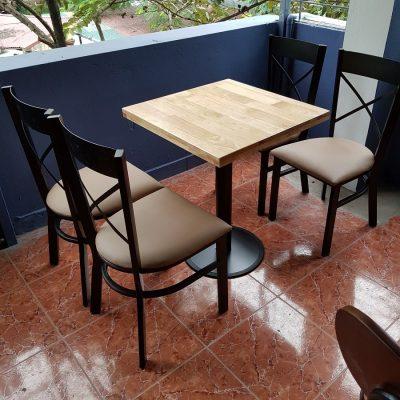 Bàn ghế cà phê sắt TS252