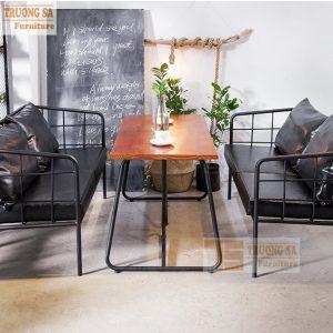 bàn ghế sofa cà phê TS357