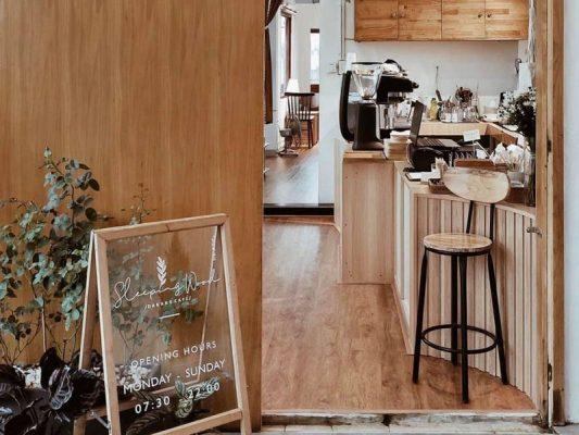 thiết kế quán cafe 80m2