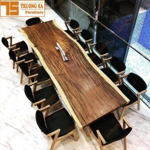 bàn gỗ me tây nguyên tấm TS452