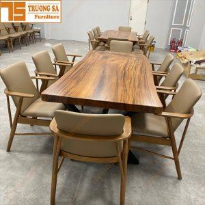 bàn gỗ me tây nguyên tấm TS453