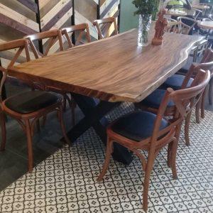 bàn gỗ nguyên tấm TS02