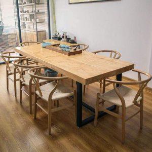 bàn gỗ nguyên tấm TS05
