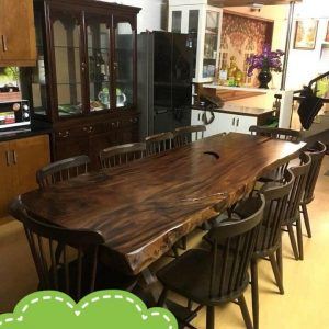 bàn gỗ nguyên tấm TS06