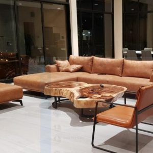 bàn sofa gỗ nguyên khối TS139