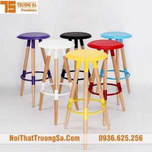 ghế quầy bar gỗ NK01