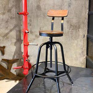 ghế quầy bar chân sắt retro TS495