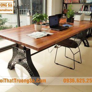 Chân bàn gỗ nguyên khối TS602