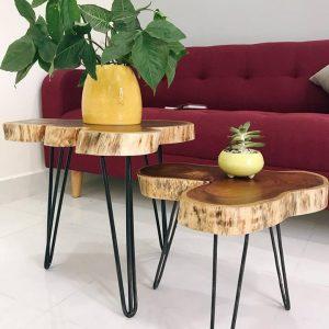 Mặt bàn gỗ nguyên khối TS306