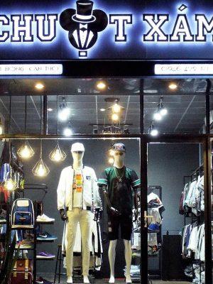 thiết kế cửa hàng quần áo