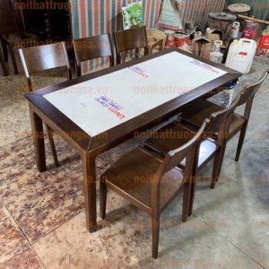 Bàn ghế ăn gỗ sồi TS390
