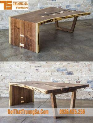 Bàn decor gỗ TS626