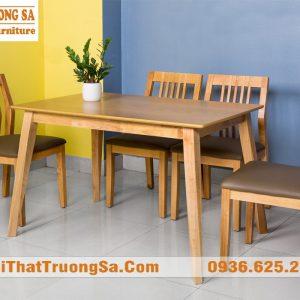 Bộ bàn ghế phòng ăn hiện đại TS283