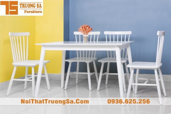 Bàn ghế gỗ phòng ăn TS285