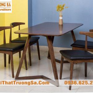 Mẫu bàn ghế phòng ăn đẹp TS286