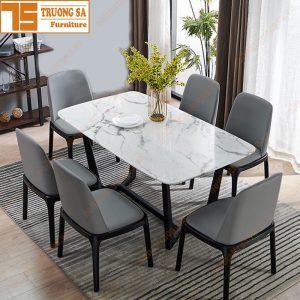 Bộ bàn ghế ăn 6 ghế TS358