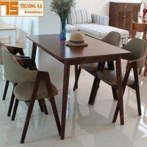 Bộ bàn ăn 4 ghế đẹp TS355