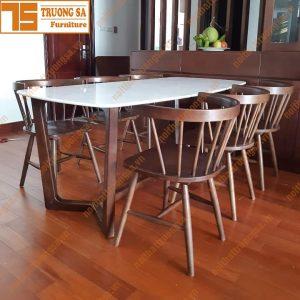 Bộ bàn ăn 6 ghế hiện đại TS379
