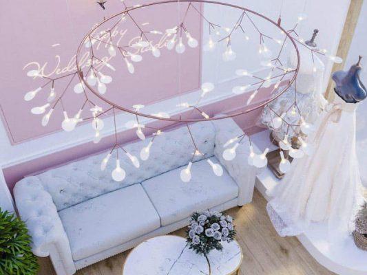 thiết kế showroom áo cưới